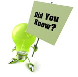 Did You Know lightbulb