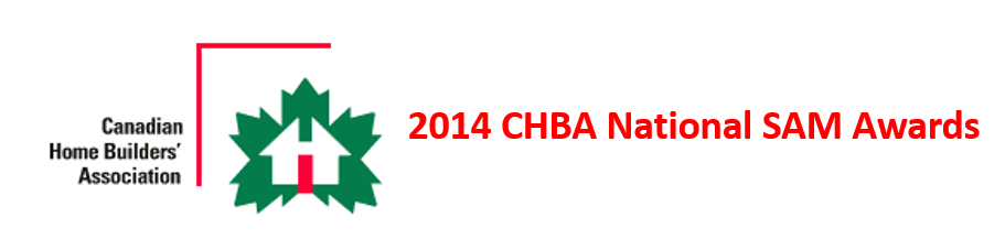 CHBA National SAM Awards logo